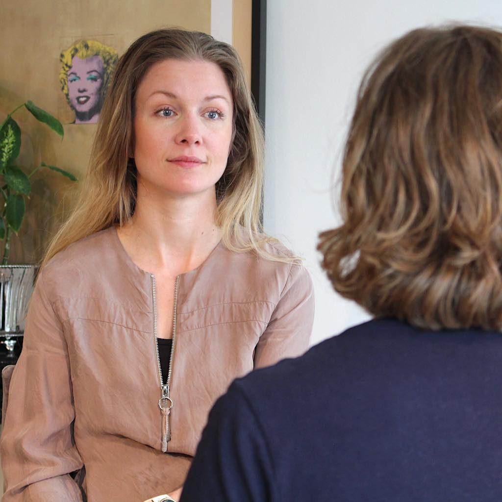 Billedet viser angst behandling ved signe stausholm