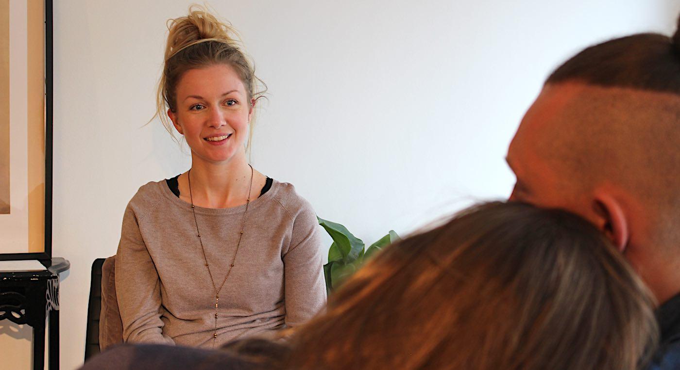 Billedet viser parterapi ved psykoterapeut signestausholm